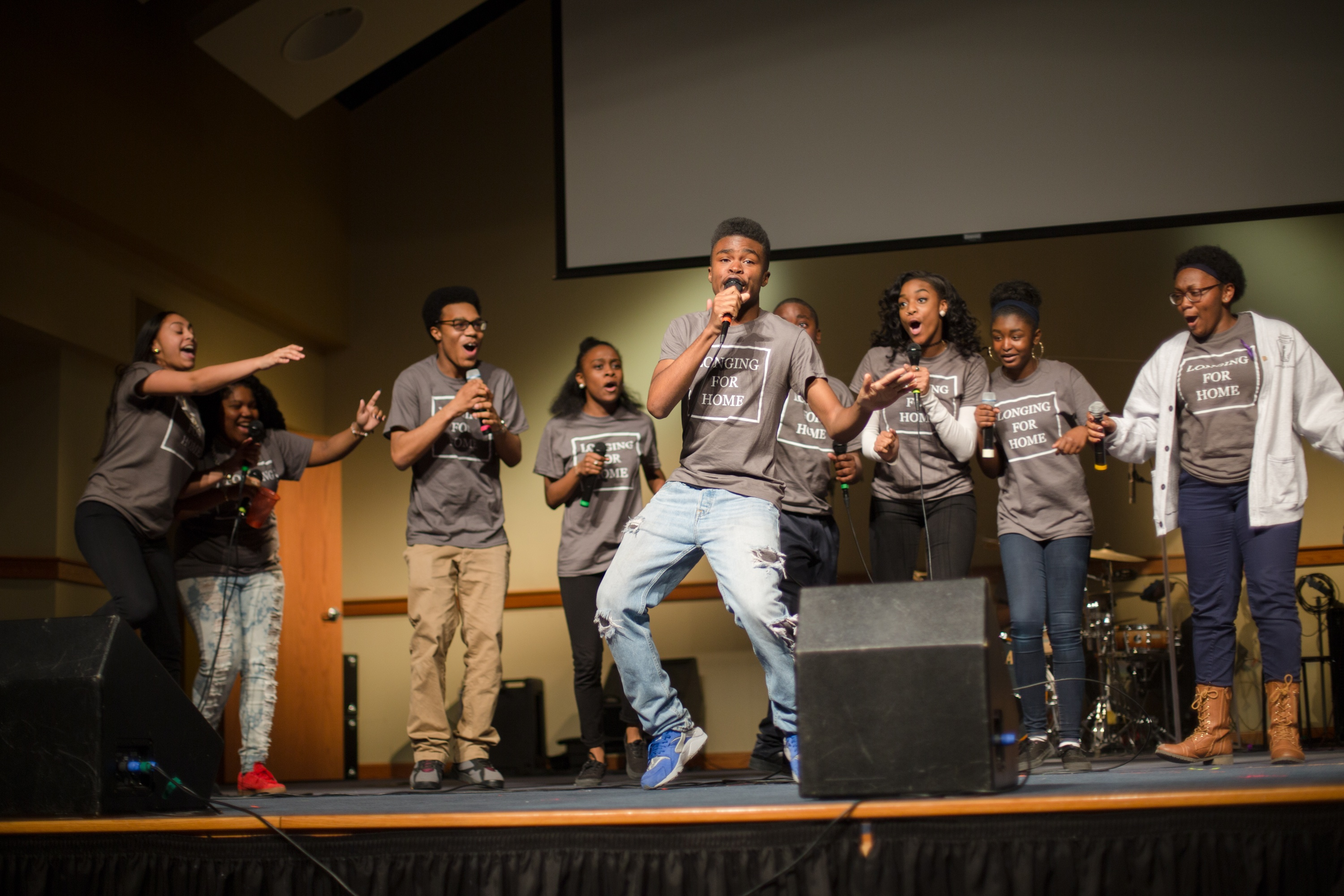 """The 2017 theme for New City Kids is """"Out of Darkness,"""" from 1 Peter 2:9. God uses New City Kids to invite young people to find their purpose in life and realize that they have a calling even in their dark and negative environment. New City Kids youngsters performed fundraising concerts four times in the NYC/New Jersey area in March and April. Kerusso is proud to partner with them and support their mission!"""