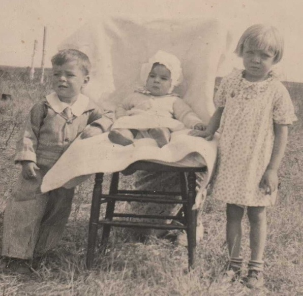 "Gramma Ann, born in 1922, is pictured with her siblings in the late '20s. Ann told her granddaughter, Kerruso blogger Liz Sagaser, one day much later in life that the ""best time"" of her life has been her relationship with Jesus."