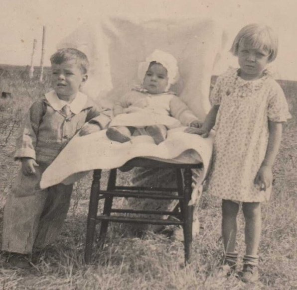 """Gramma Ann, born in 1922, is pictured with her siblings in the late '20s. Ann told her granddaughter, Kerruso blogger Liz Sagaser, one day much later in life that the """"best time"""" of her life has been her relationship with Jesus."""