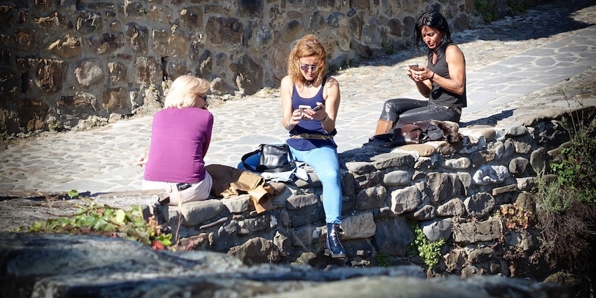 Communication Breakdown Cell Phone Addicts cropped.jpeg
