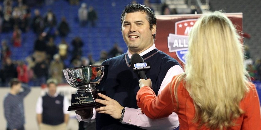 David Schuman, founder of the national high school football training, recruiting and camp network NUC Sports, frequently appears on television as a football analyst for NFL recruiting topics.