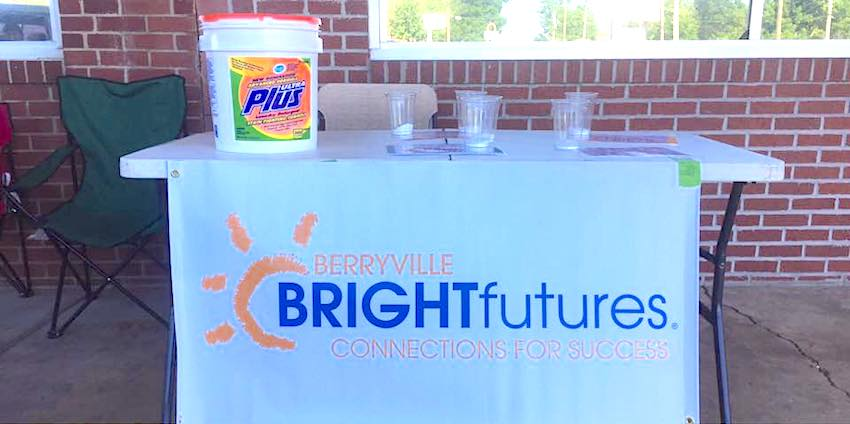 """One of the ways Bright Futures Berryville is giving students and their families a boost is by periodically hosting """"Free Laundry Day"""" for those in need."""