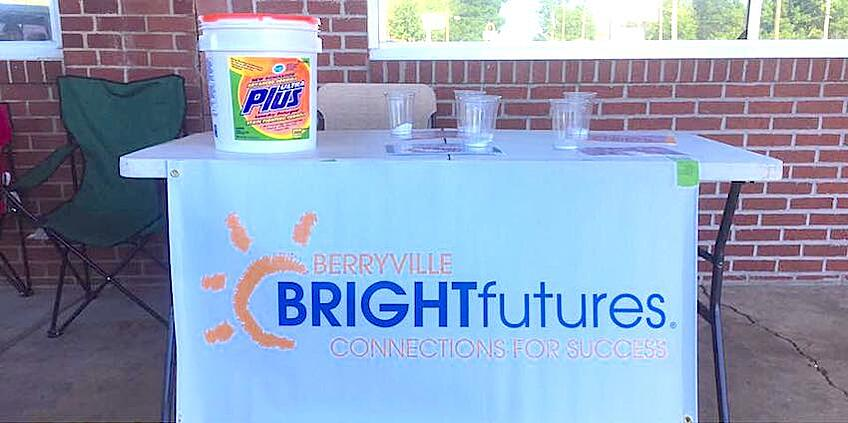 "One of the ways Bright Futures Berryville is giving students and their families a boost is by periodically hosting ""Free Laundry Day"" for those in need."