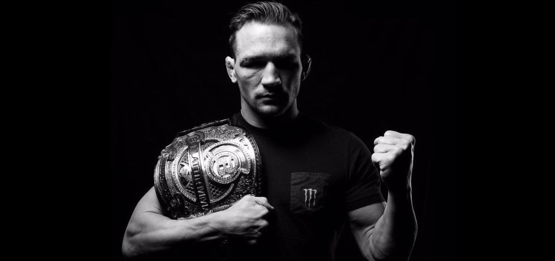 MMA Bellator Lightweight Champion Michael Chandler is known for being open about his Christian faith. He recently spoke with Kerusso's Play Hard Pray Hard blog about that, his career and his future. Photo by CourtneyHenderson.com.