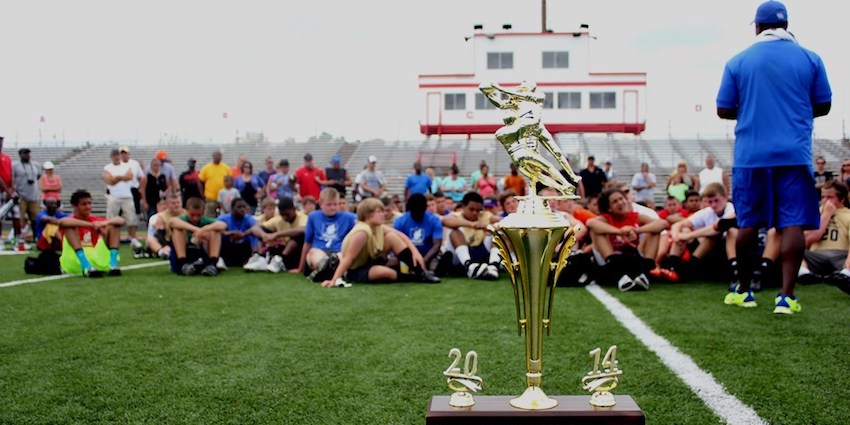 David Schuman's NUC Sports holds training camps and recruiting opportunities all over the country for high school athletes looking for college football scholarship opportunities.