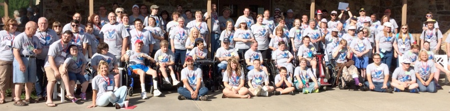 Special Touch Getaway Camps, held each summer in 12 states across the country, fill up quickly because they are so popular and considered by many as the top camps for the disabled in the U.S. Special Touch Ministry is working to add more camps both in the U.S. and abroad. Kerusso supports Special Touch camps each year by sending Christian T-shirts for the guests; they are distributed by Mauldin Ministries.