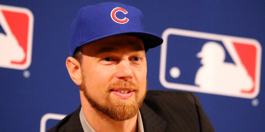 Ben Zobrist signed with the Chicago Cubs in December 2016, and less than a year later he proved a vital part of helping the Cubs win their first World Series title in 108 years. Photo courtesy of Cubs.com.