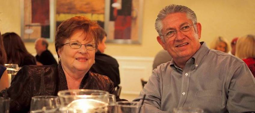 """Paula and Bob Ahart will celebrate 48 years of marriage this October. Bob, who just retired after serving as Director of HR at Kerusso for nearly a decade, still frequently refers to her as his """"bride."""""""