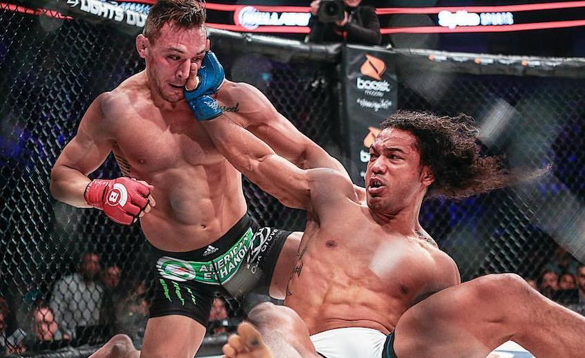 Michael Chandler defeated Ben Henderson to defend his Lightweight Champion title in November 2016.