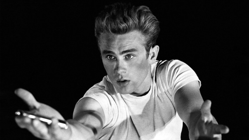 """James Dean's character in """"Rebel Without a Cause"""" in 1955 made T-shirts a major fashion statement, something that is more true than ever today."""