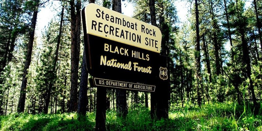 """Known locally as simply the """"Rock Maze,"""" Steamboat Rock Recreation Site in the Black Hills National Forest is a popular place among the family of Kerusso.com blogger Liz Sagaser."""