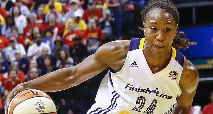 Tamika Catchings is known as a sweetheart off the court, but all business on it. After a 15-year career in the WNBA, she retired last year, having earned more accolades and awards than any other single female basketball player in U.S. history.